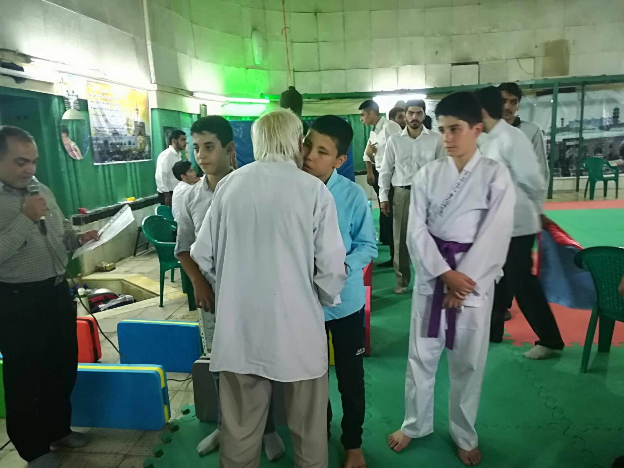 هنرجویان باشگاه اخوان اسلامی