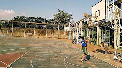 Step back shoot in basketball [teknik variasi tembakan dalam basket]