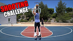 BASKETBALL SHOOTING CHALLENGE WITH 2HYPE!