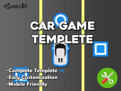 پکیج یونیتی Car Game