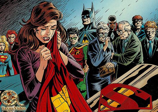 دانلود انیمیشن The Death of Superman مرگ سوپرمن 2018 دوبله فارسی و لینک مستقیم