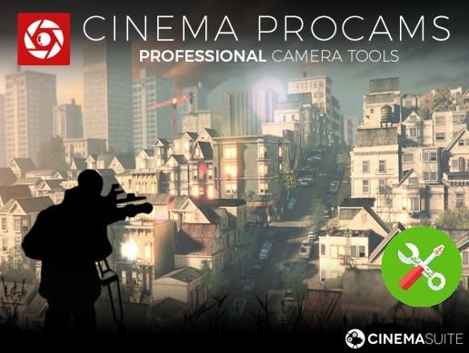 پکیج یونیتی Cinema Pro Cams