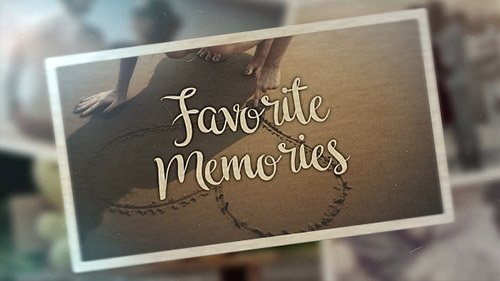 پروژه آماده پریمیر : VideoHive - Favorite Memories