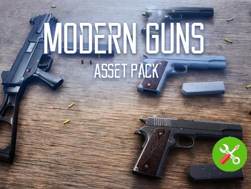 پکیج Modern Guns Pack