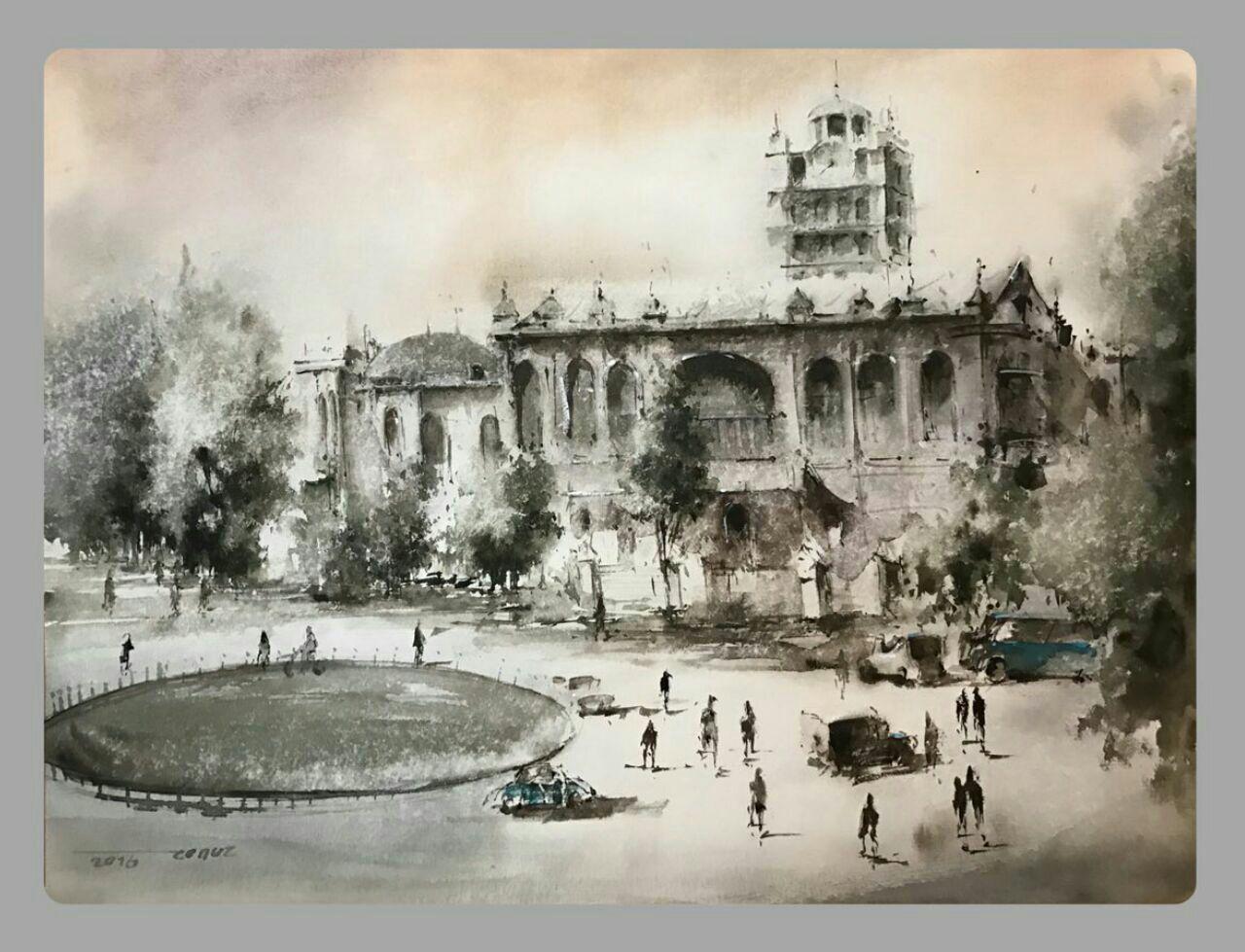 نقاشی تبریز