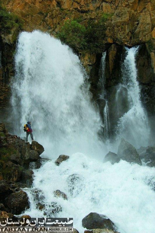 آبشار چکان دورود لرستان