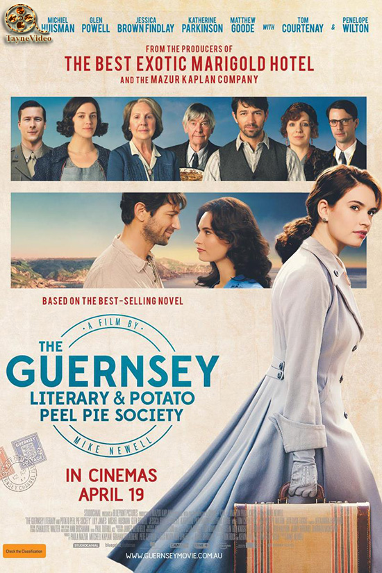 دانلود فیلم The Guernsey Literary and Potato Peel Pie Society 2018