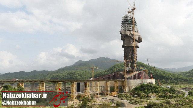از ساخت بلندترین مجسمه دنیا چه خبر؟