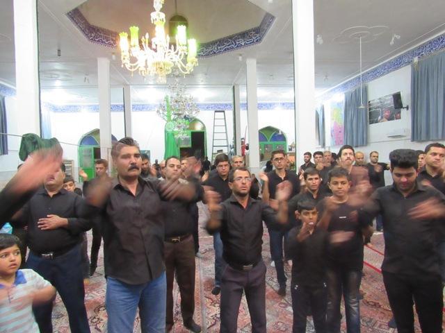 برگزاری مراسم عزاداری دهه اول محرم در مسجد صاحب الزمان (عج) محله صادقیون