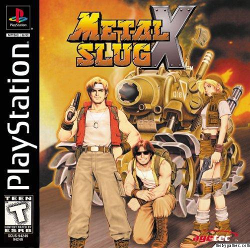 دانلود بازی پلی استیشن Metal Slug X برای کامپیوتر