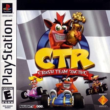 دانلود بازی کراش ماشینی پلی استیشن Crash Team Racing برای کامپیوتر