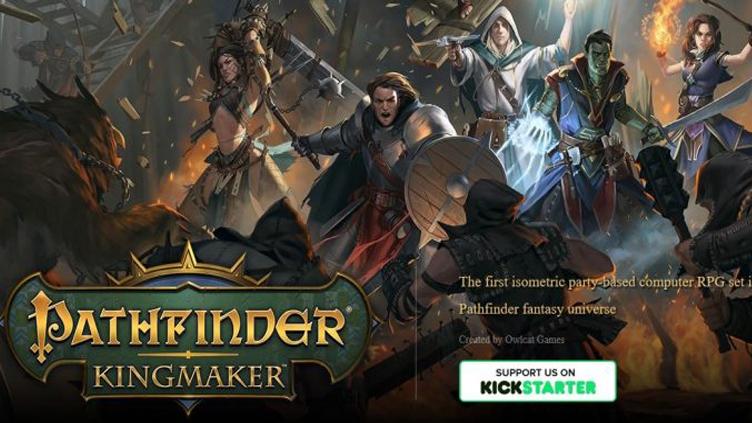 کرک سالم بازی Pathfinder Kingmaker