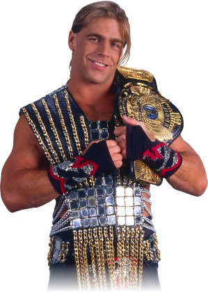 WWE - Shawn Michaels as WWF Champion, Classic Winged Eagle Belt
