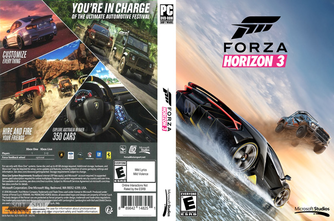 Forza Horizon 3 Cover