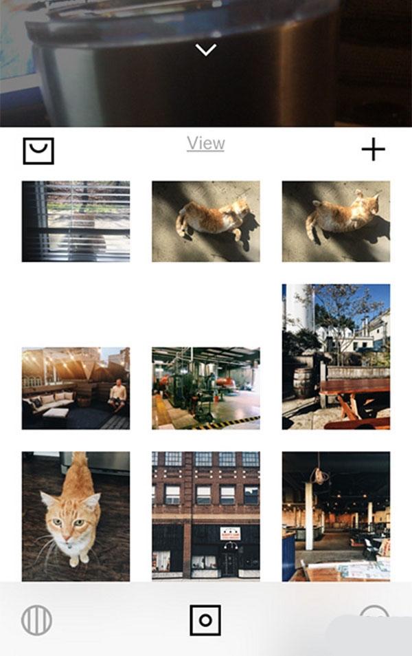 اشتراک گذاری عکس ها با VSCO