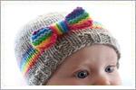 مدل کلاه بچه گانه با دومیل
