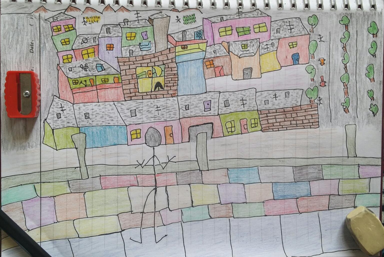 نقاشی شهر