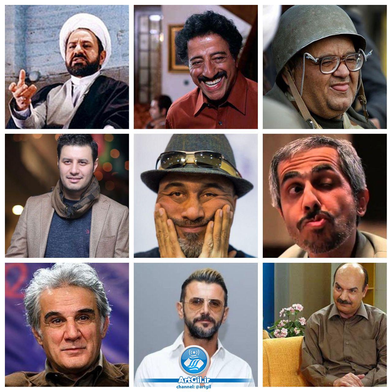 بهترین کمدینهای مرد ایران را بشناسید/ از «آدم برفی» تا «داونه»!