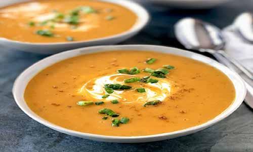 طرز تهیه سوپ سیب زمینی خامه ای