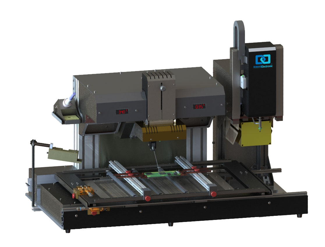 BGA ماشین|انواع BGA ماشین|تعویض چیپ|سیستم لحیم کاری