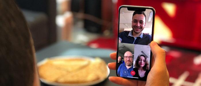 آموزش استفاده از تماس تصویری و ویدیویی گروهی اینستاگرام