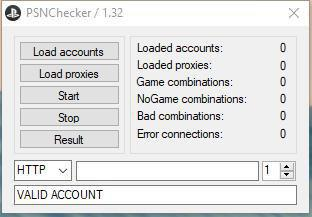 Need to Be Cracked] Psn Checker Captchaless 1 33 | Very Fast