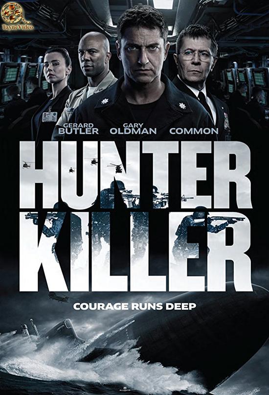 دانلود فیلم Hunter Killer 2018 - قاتل شکارچی