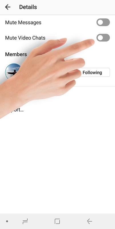 غیرفعال کردن حالت تماس ویدیویی در دایرکت اینستاگرام