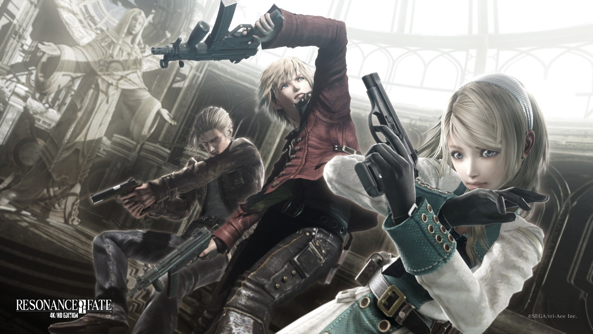 دانلود ترینر بازی RESONANCE OF FATE END OF ETERNITY 4K HD EDITION