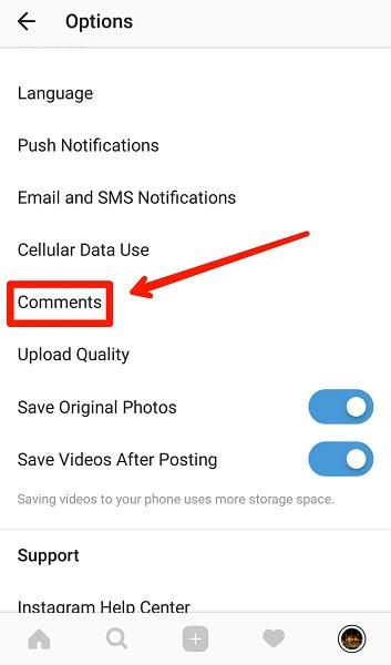 آموزش بلاک کردن یک شخص خاص فالوور ها یا فالووینگ ها هنگام کامنت گذاری در اینستاگرام