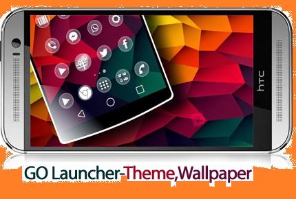 دانلود GO Launcher Z Theme,Wallpaper V3.08 Vip - نرم افزار موبایل لانچر حرفه ای