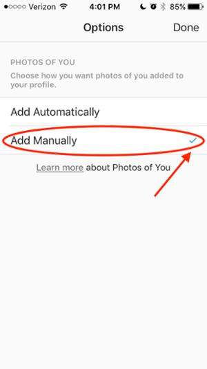قابلیت اینستاگرام برای تایید پست هایی که در آن ها تگ می شوید ( قبل از انتشار )