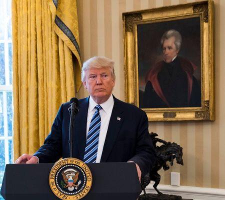 ترامپ و جکسون