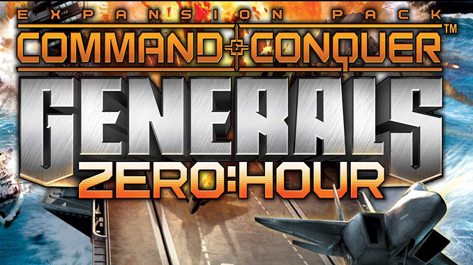 دانلود ترینر بازی Command And Conquer Generals Zero hour