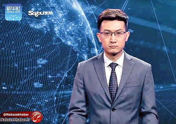 «مجری خبر» ساخته شده با هوش مصنوعی