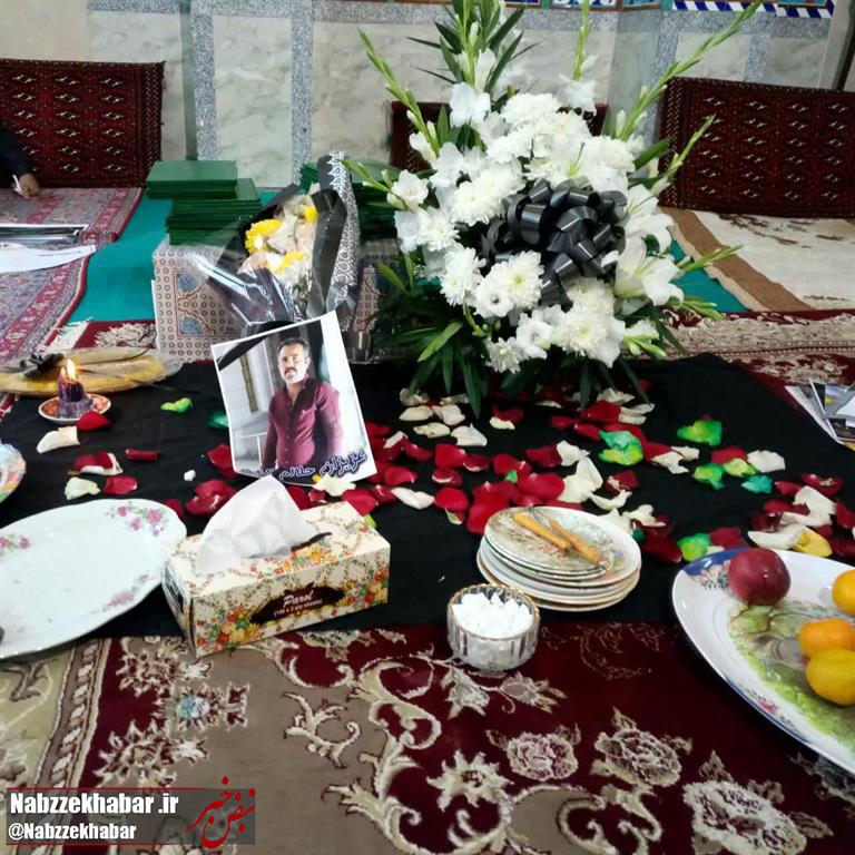 گزارش تصویری مراسم یادبود پاکبان شهرداری رشت