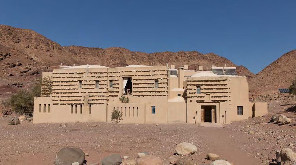 اقامتگاه بومگردی فنین در اردن