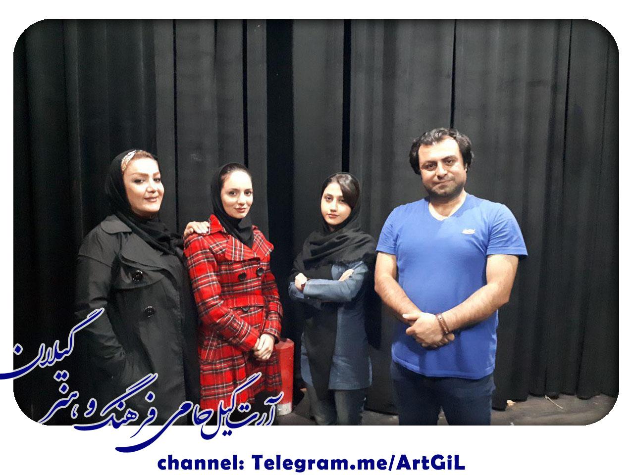 دو نمایش از گروه تئاتر مارلیک برای حضور در جشنواره ملی تئاتر خیابانی چتر زندگی _ یزد ، بعنوان تنها نمایندگان استان گیلان انتخاب شدند .