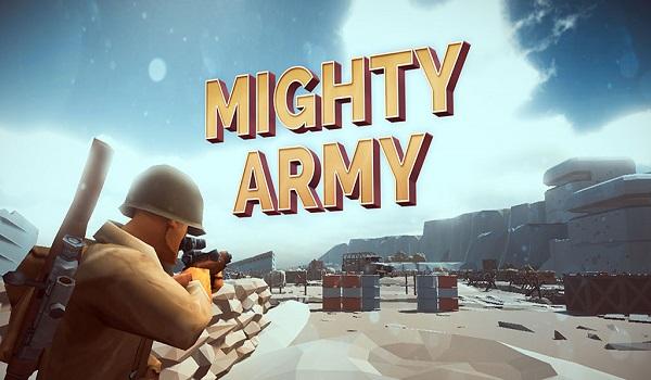 دانلود Mighty Army: World War 2 1.0.8 - بازی اکشن
