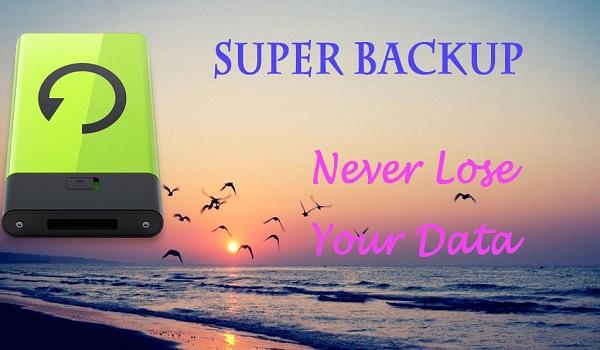 دانلود Super Backup & Restore Full 2.2.42 - پشتیبان گیری سریع اطلاعات اندروید