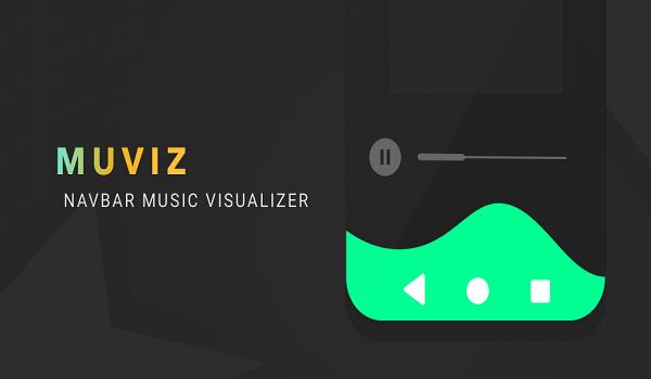 دانلود MUVIZ Navbar Music Visualizer Pro 4.6.2.0 - برنامه رقص نور موزیک صفحه نمایش اندروید