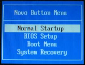 تنظیمات بوت و بایوس و سیستم ریکاوری لپ تاپ لنوو