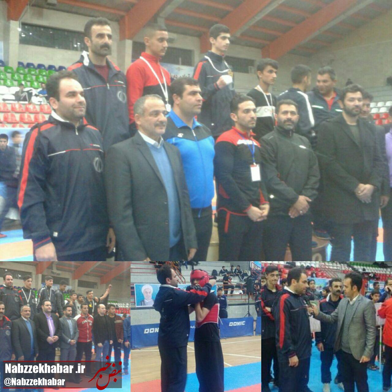 کسب دو مدال طلا و نقره تیم کنگ فو استان گیلان، در نخستین المپیاد استعداد های برتر ورزش کشور