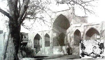 شلغم کاری در مقبره نادرشاه
