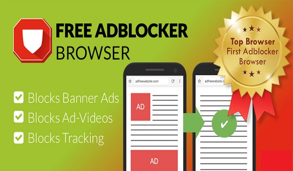 دانلود Free Adblocker Browser 64.0.2016123103 - مرورگر پر سرعت و ضد تبلیغ اندروید