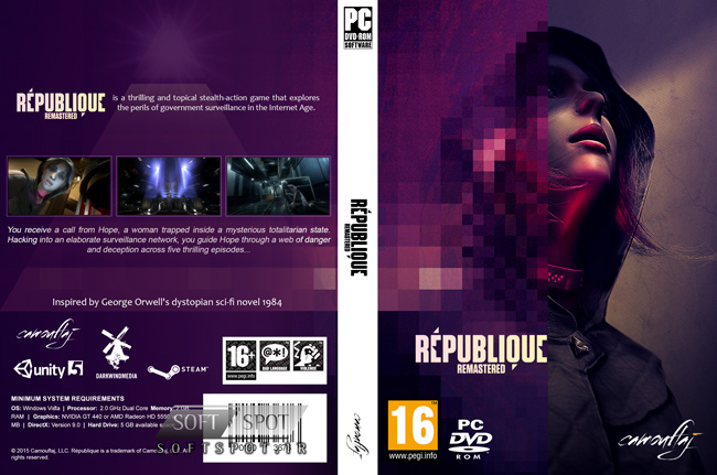 Republique Remastered Cover