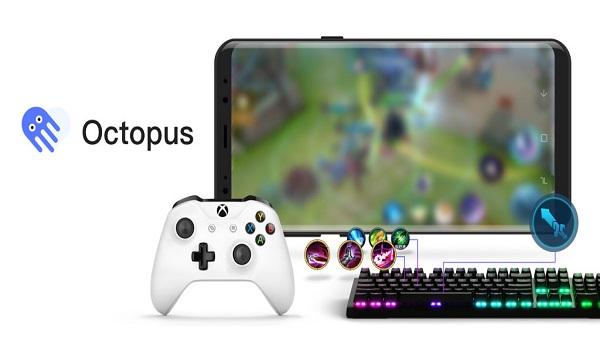 دانلود Octopus - Play games with gamepad,mouse,keyboard 3.2.9 - برنامه بازی با گیم پد، موس و کیبورد در اندروید