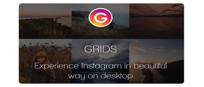 آموزش کرک کردن برنامه Grids for Instagram اینستاگرام کامپیوتر