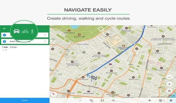 دانلود MAPS.ME Full 8.5.0 - نقشه آفلاین و پر امکانات اندروید