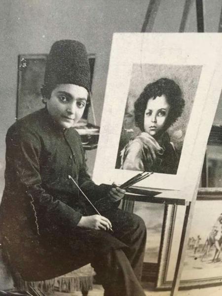 محمدناصر صفا، معروف به به ظهیرالسلطان نقاش و سیاستمدار قاجار